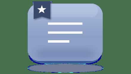 定型文、ブックマーク表示機能