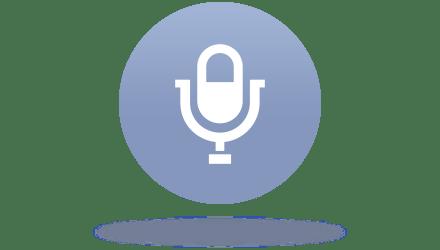 音声入力も利用可能