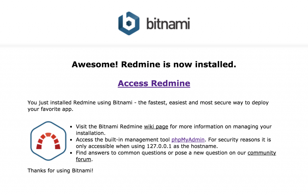 Bitnami_Redmine_Stack